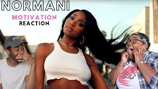 NORMANI - MOTIVATION | REACTION