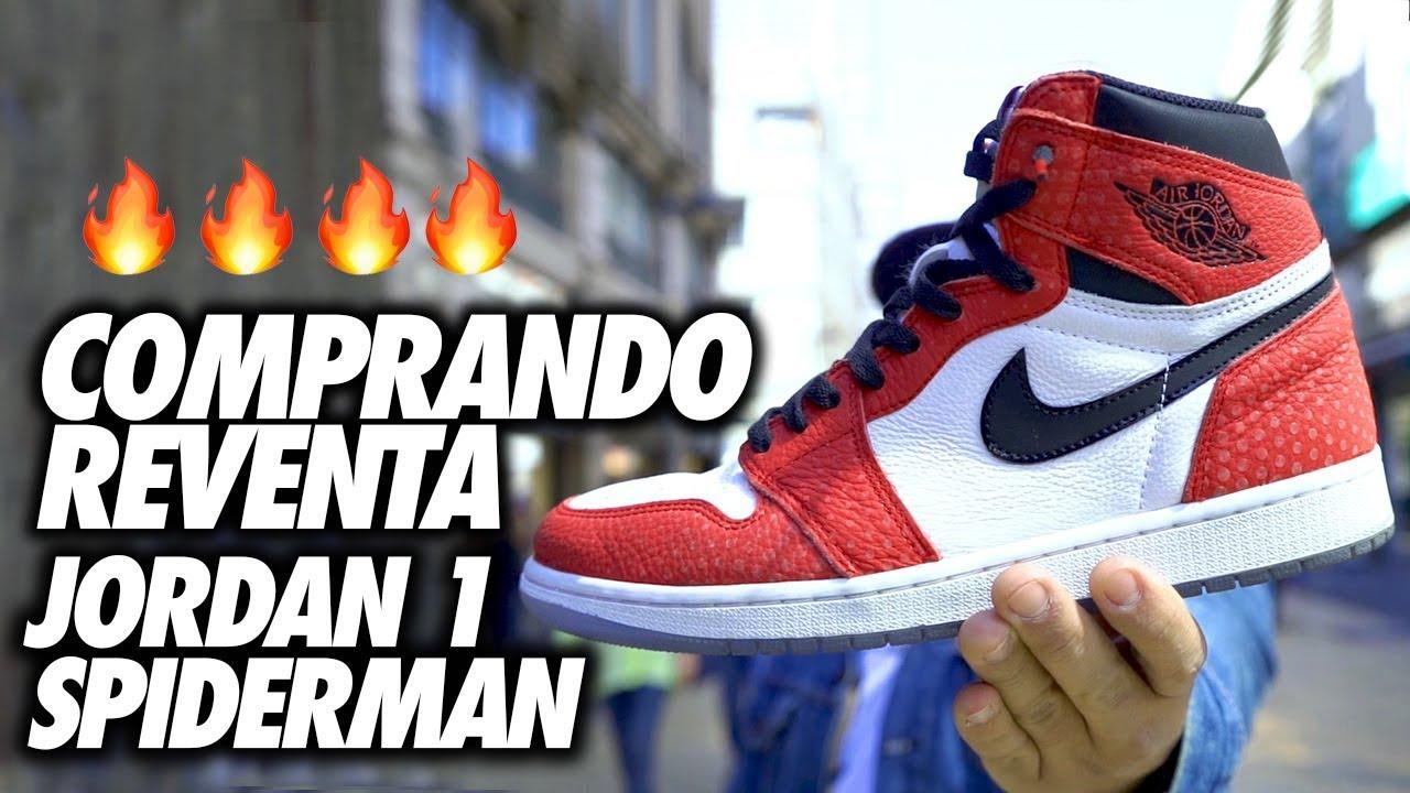 Jordan 1 Spiderman Sneaker Unboxing Español I Eder Emerson