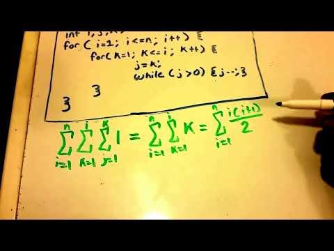 Algorithm Analysis Complexity Example