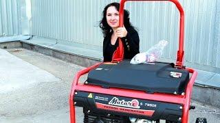 Как правильно запустить бензиновый генератор(, 2015-09-18T09:10:47.000Z)