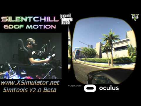 FIRST EVER ?!?!?!  GTA5 VR  and 6DOF MOTION - Oculus Rift CV1