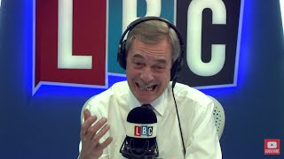 The Nigel Farage Show: UKIP leader Henry Bolton interview. Live LBC - 22nd January 2018