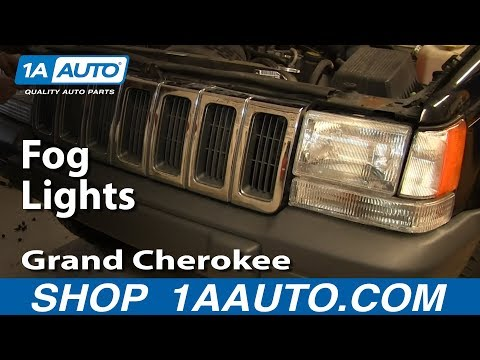 how to replace fog lights 97 98 jeep grand cherokee youtubeJeep Cherokee Parts Diagram Http Wwwautopartslibcom Jeepcherokee #1