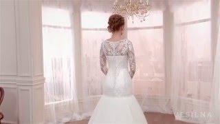 Свадебное платье русалка от VESILNA™ модель 3063