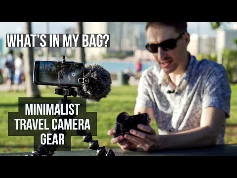 Fujifilm Minimalist Travel Photography Camera Gear – What's in My Bag