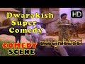 Dwarkish Super comedy   Kannada Comedy Scenes   Muddina Mava Kannada Movie   Shashikumar
