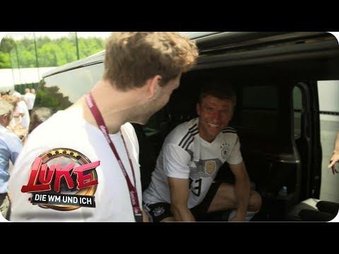 Besuch beim DFB-Team - Luke crasht das WM-Trainingslager - LUKE! Die WM und ich