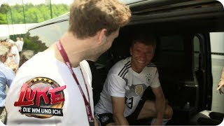 Visit to the DFB team - Luke crashes the World Cup training camp - LUKE! The World Cup and me