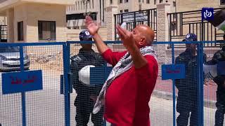 وقفة احتجاجية للمطالبة بدفع رواتب الموظفين في قطاع غزة - (24-4-2018)
