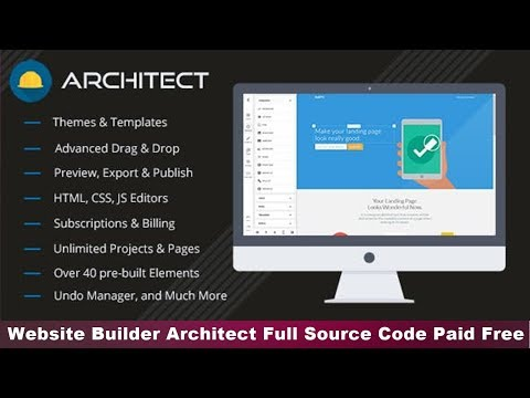 Website Builder Architect HTML Full Source Code Paid Code Free Scripts/ Hindi/Urdu 2019 Tech Tips