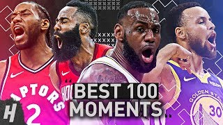 TOP 100 MOMENTS OF THE 2018-19 NBA SEASON!!! Video