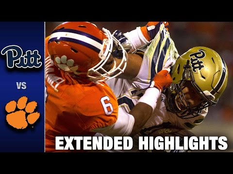 Pittsburgh vs. Clemson Extended Football Highlights (2016)