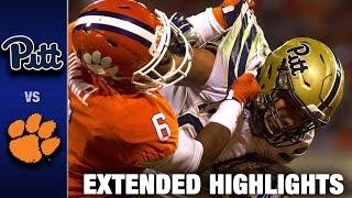 Pittsburgh vs. Clemson Extended Football Highlights (2016)