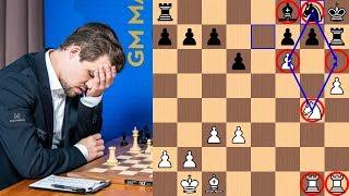 A Silent Confession   Magnus Carlsen vs Fabiano Caruana - 2018 Sinquefield Cup