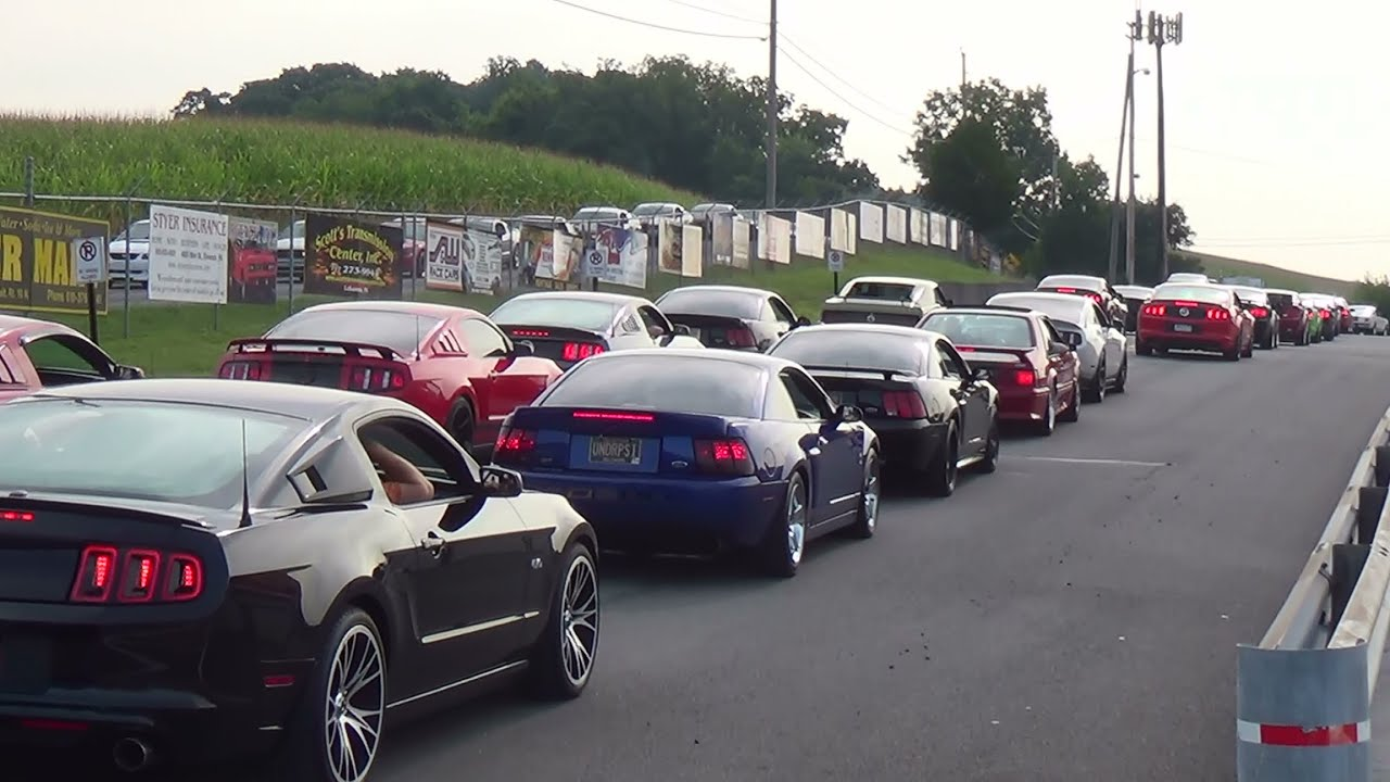 Pt 2 Arrivals American Muscle Mustang Show Reading Pa 8 16 14 Youtube