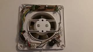 adding a timer to an bathroom fan