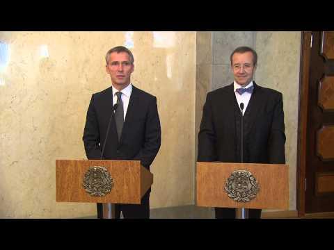 NATO Secretary General and President of Republic of Estonia, 20 NOV 2014