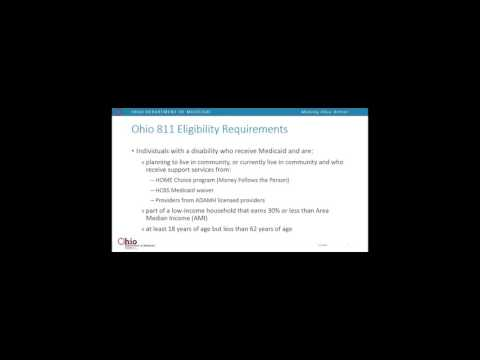 Ohio's HUD 811 Project Rental Assistance