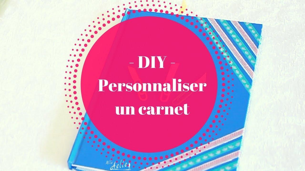 Préférence DIY - Personnaliser un carnet - YouTube PZ58