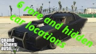 6 Rare And Hidden Cars In Gta 5 Story Mode
