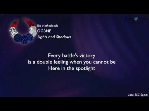 OG3NE - Lights and Shadows (The Netherlands) [Karaoke Version]