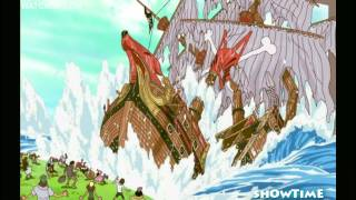 One piece - Zoro gets lost and destroys a ship HD
