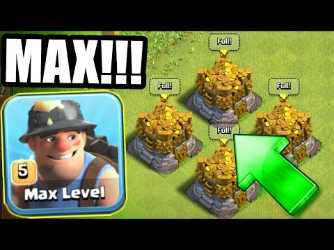 PREPARING FOR THE HUGE UPDATE!! - WE NEED MAX LOOT! - Clash Of Clans