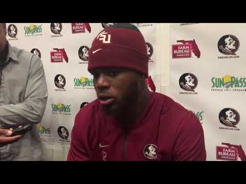 FSU QB Deondre Francois after the loss to Florida