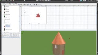 Sweet Home 3D – Conical roof