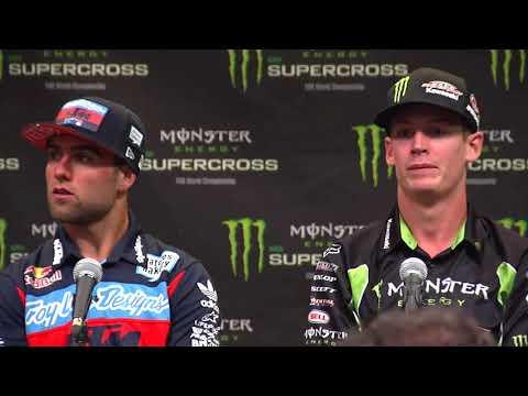 250SX Post Race Press Conference - Las Vegas - Race Day LIVE 2018
