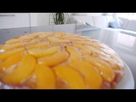 Peach UPSIDE down cake by DEARRA PROP | Recipe #35