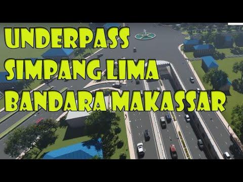 Video Animasi UnderPass Simpang Lima Bandara Hasanuddin Makassar