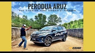 Perodua Aruz 2019 : SUV 7 Seater Terbaik Di Pasaran - ENGEAR REVIEW #Ep29