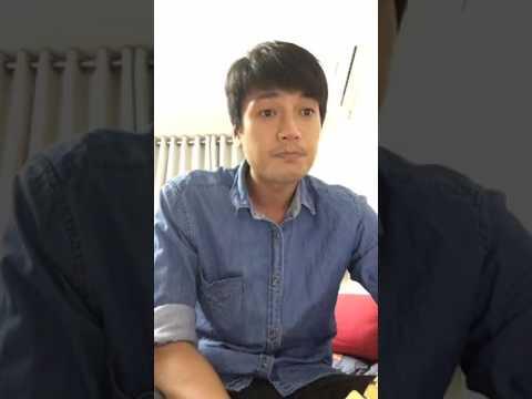 Diễn viên Quang Tuấn livestream hát tặng fan nè