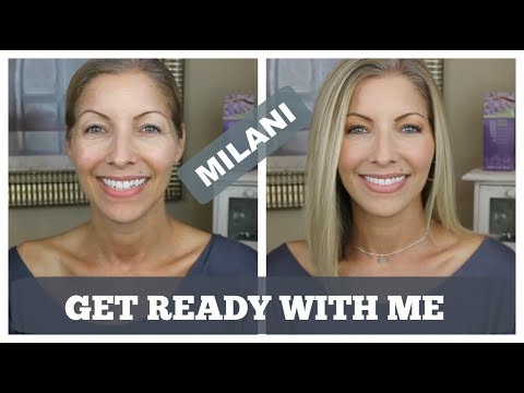 Over 40 Chit Chatty Get Ready With Me - Drugstore Products - Milani