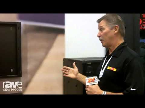 CEDIA 2015: OmniMount Presents the RE12W Enclosed On-Wall Rack Mounting Solution
