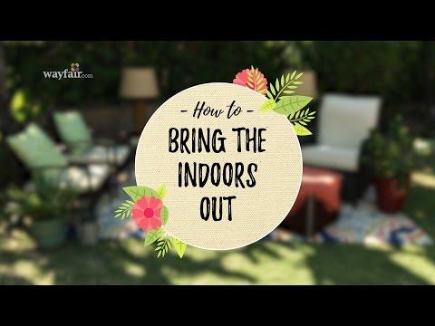 Easy Outdoor Living Room