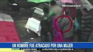 Escupitajo y cosquilleo: así robaban Las Arpías en el centro de Bogotá- 2 de Septiembre de 2015