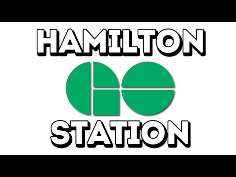 The Hamilton Go Station, 36 Hunter Street East.