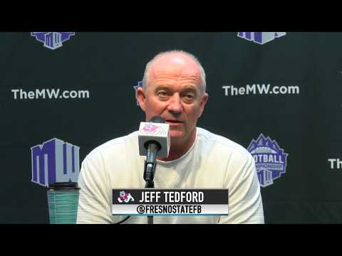 Fresno State Football: Jeff Tedford Press Conference 11/27/17