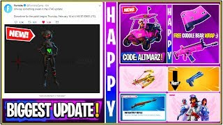 *NEW* Fortnite Update: Biggest Update Tomorrow! *v7.40* (Free Cosmetics, Leaks, Event Files & More!)