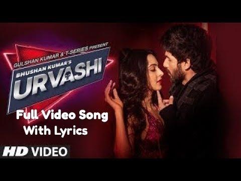 Urvashi Lyrics Offical Full Music Video | Shahid Kapoor, | Yo Yo Honey Singh