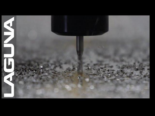 High Speed CNC Router Cutting Aluminum - Laguna Tools Quick Cuts feat. SmartShop 3