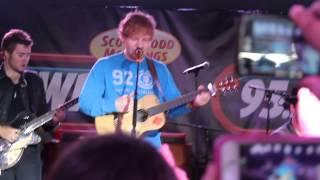 Ed Sheeran and Gavin DeGraw (I don't wanna be/A team)