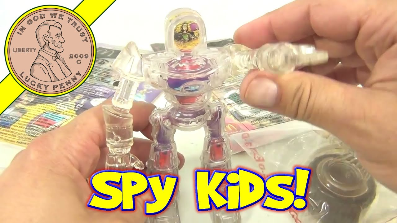 McDonald s Happy Meal Toys Spy Kids 3D Game Over