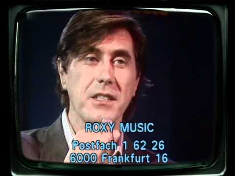 Roxy Music - Oh yeah (On the radio) 1980