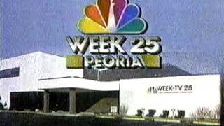 WEEK-TV 25 Sign-Off 1989