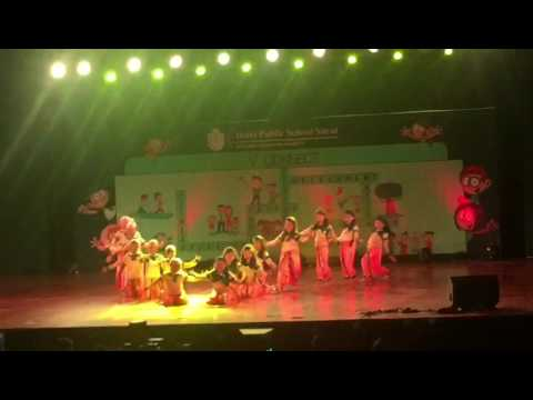 Delhi Public School Surat Annual Function 2017 Cl 2(2)
