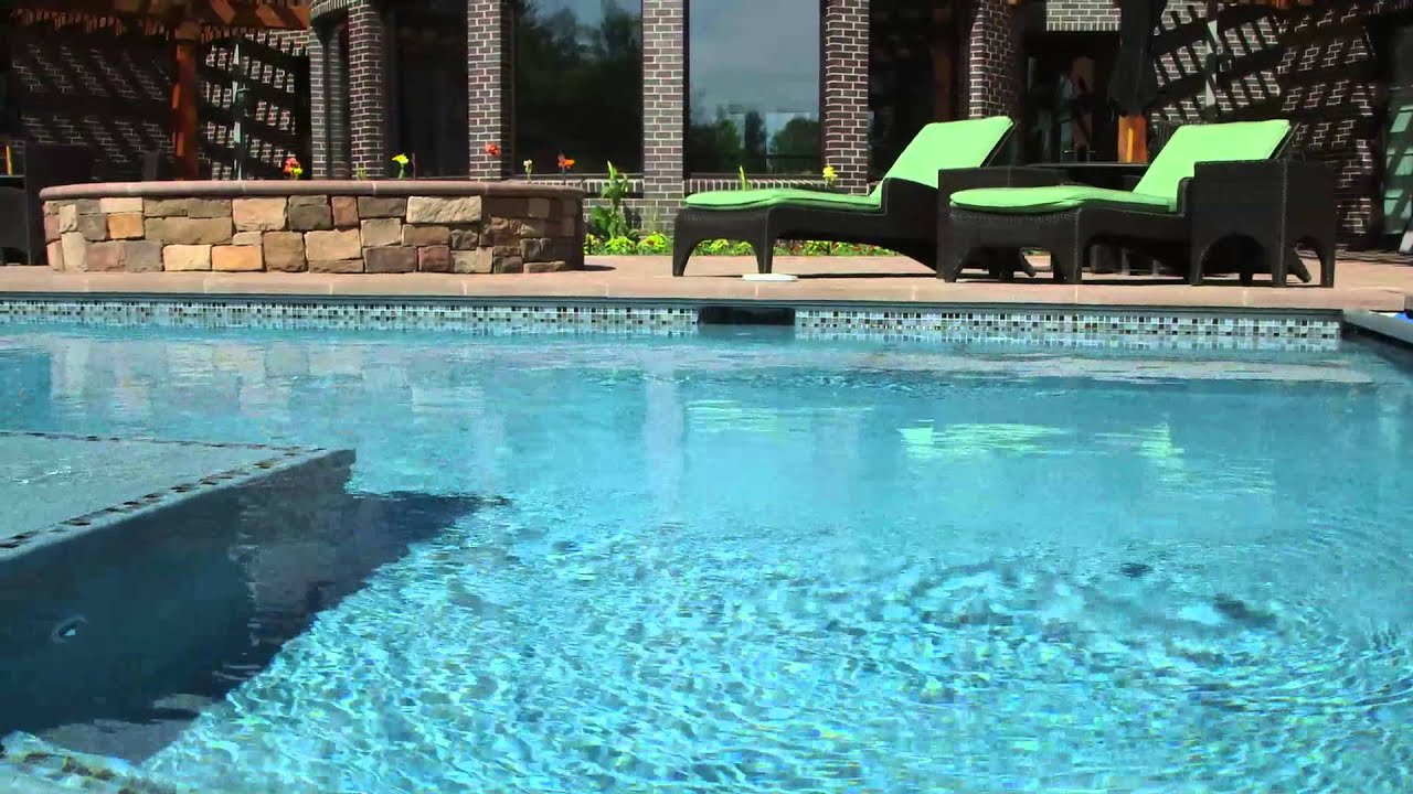 how to get green ut of a pool