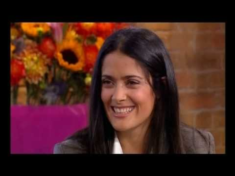 Salma Hayek called a lesbian by Eamonn Holmes - This Morning 3rd October 2008